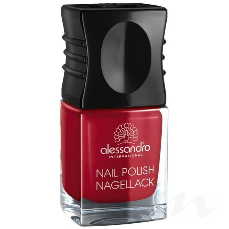 alessandro Nail Polish We love Colours No 27 SECRET RED, 4,95 €,