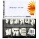 GUILL D´OR French White Tips Tipbox 400pc