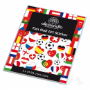 alessandro Fan Nail Art Sticker EM 2016