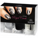 alessandro Go Magic Royal Crash SILBER Nail Polish Set