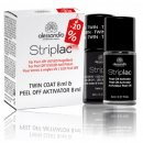 alessandro Striplac Duo Set Twin Coat 8ml + Peel-Off...