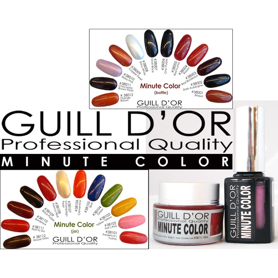 GUILL D´OR Minute Color Gel - Really Brown 10ml